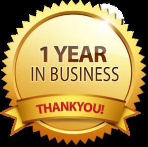 Поздравление один год работы в компании